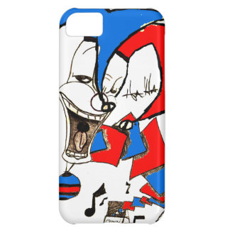 Jacks in the Box (Clown Sketch) Cover For iPhone 5C
