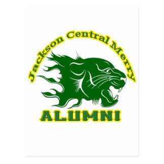 Jackson Central Merry Alumni Postcard
