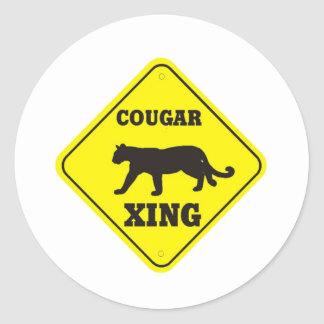 Jackson Central Merry Cougars Sticker