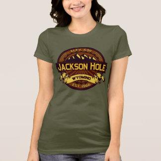Jackson Hole Color Logo Vibrant T-Shirt
