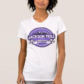 Jackson Hole Color Logo Violet T-Shirt