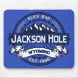 Jackson Hole Colour Logo Mousepad