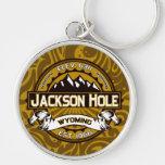 Jackson Hole Logo Keychain