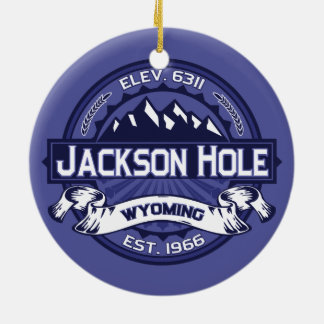Jackson Hole Midnight Christmas Ornament
