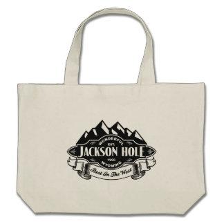 Jackson Hole Mountain Emblem Bag