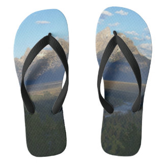 Jackson Hole Mountains (Grand Teton National Park) Flip Flops