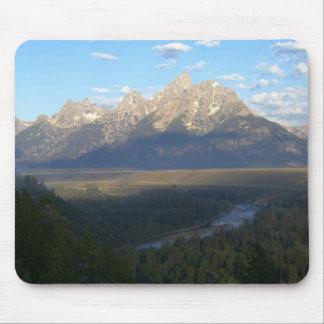 Jackson Hole Mountains (Grand Teton National Park) Mouse Pad