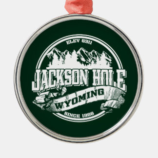 Jackson Hole Old Circle Green Christmas Ornament