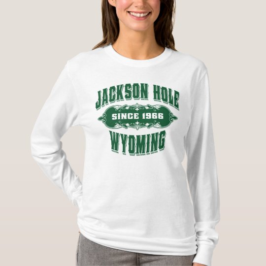 Jackson Hole Old Stock Green T-Shirt