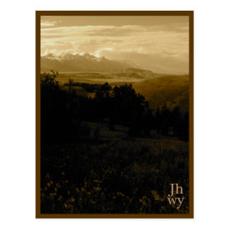Jackson Hole photo series postcard