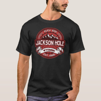 Jackson Hole Red T-Shirt