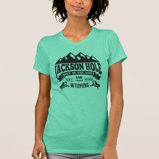 Jackson Hole Vintage Black T Shirts