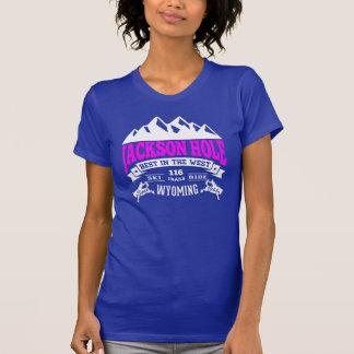 Jackson Hole Vintage Raspberry Shirts