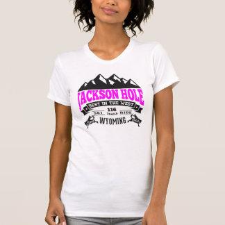 Jackson Hole Vintage Raspberry Tshirt