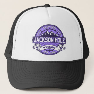Jackson Hole Violet Trucker Hat