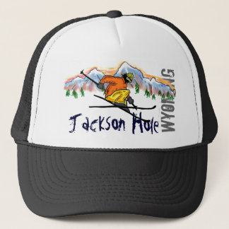 Jackson Hole Wyoming ski hat
