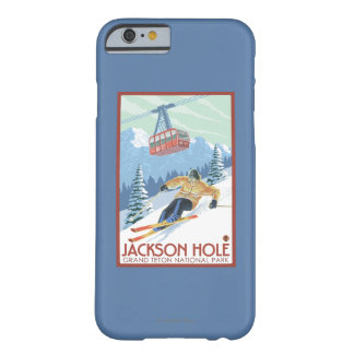 Jackson Hole, Wyoming Skier and Tram Barely There iPhone 6 Case