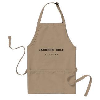 Jackson Hole Wyoming Standard Apron
