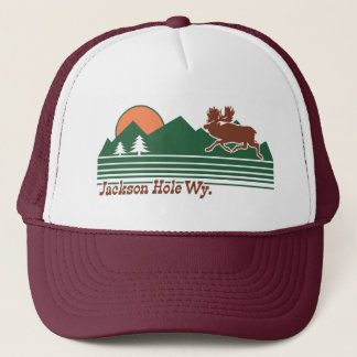 Jackson Hole Wyoming Trucker Hat