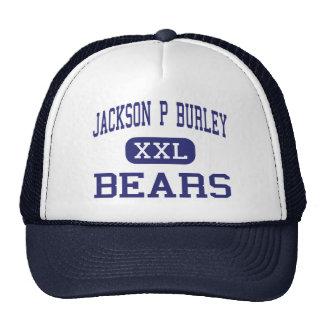 Jackson P Burley Bears Charlottesville Hats