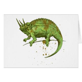 Jackson s chameleon カード