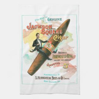 Jackson Square Cigar Tea Towel