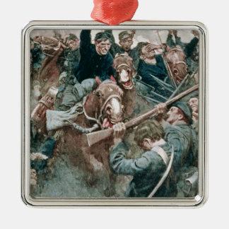 Jackson's Brigade Standing Like a Stone Wall Christmas Ornament