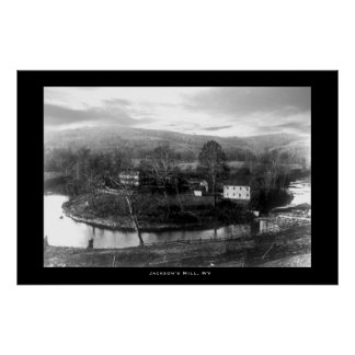 Jackson's Mill, West Virginia Poster