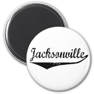 Jacksonville 6 Cm Round Magnet