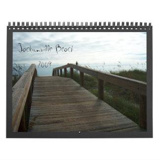 Jacksonville Beach, Florida - Calendar