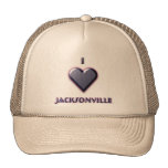 Jacksonville -- Blue with glow Hat
