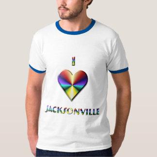 Jacksonville -- Brown Blue & Gold T-Shirt
