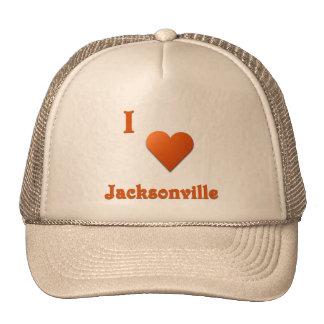 Jacksonville -- Burnt Orange Trucker Hat