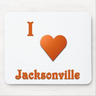 Jacksonville -- Burnt Orange Mouse Pad