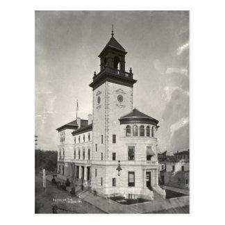 Jacksonville Courthouse Postcard