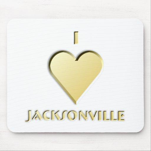 Jacksonville -- Cream Mousepad