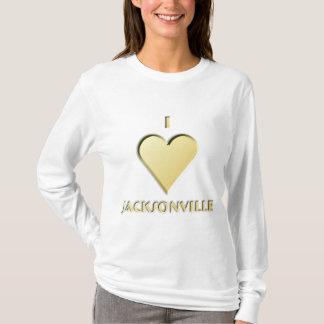 Jacksonville -- Cream T-Shirt