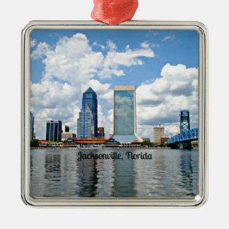 Jacksonville, Florida cityscape Christmas Ornament