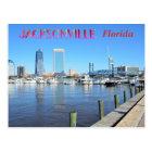 Jacksonville Florida Cityscape Postcard