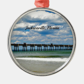 Jacksonville, Florida Pier Christmas Ornament