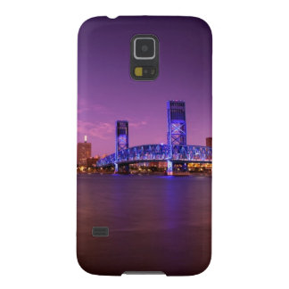 Jacksonville Florida Skyline at Night Case For Galaxy S5