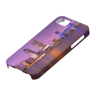 Jacksonville Florida Skyline at Night Case For The iPhone 5