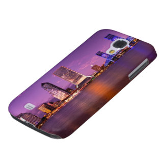 Jacksonville Florida Skyline at Night Galaxy S4 Case