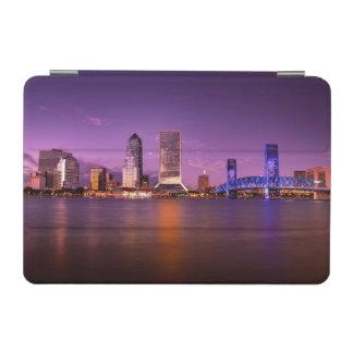 Jacksonville Florida Skyline at Night iPad Mini Cover