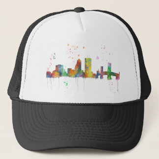 JACKSONVILLE, FLORIDA SKYLINE TRUCKER HAT