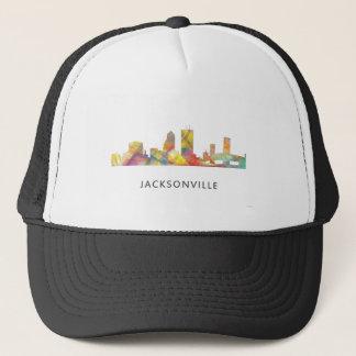 JACKSONVILLE, FLORIDA SKYLINE WB1 TRUCKER HAT