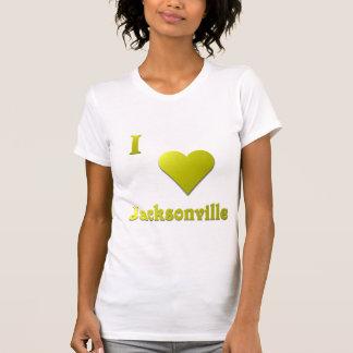 Jacksonville -- Gold T-Shirt
