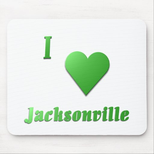Jacksonville -- Kelly Green Mouse Pad