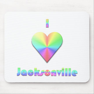 Jacksonville -- Pastels Mouse Pad