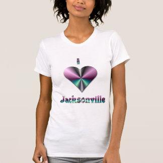 Jacksonville -- Purple & Turquoise T-Shirt